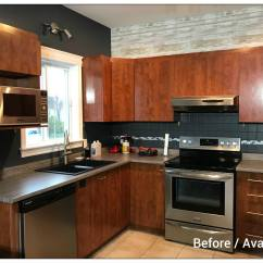 Kitchen Refacing Places To Buy Tables Inspiration 17 Using Wmk 031 052 Wrap My Before