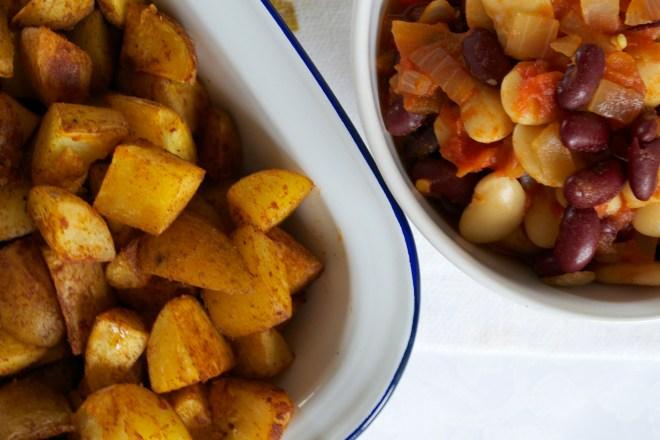 Spanish vegan food