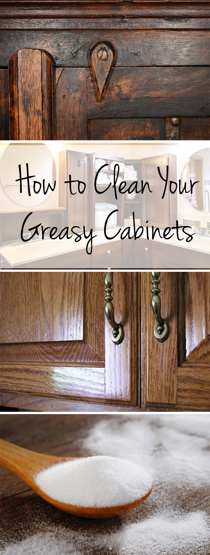 How to Clean Your Greasy Cabinets  Wrapped in Rust