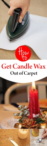 How to Get Candle Wax Out of Carpet