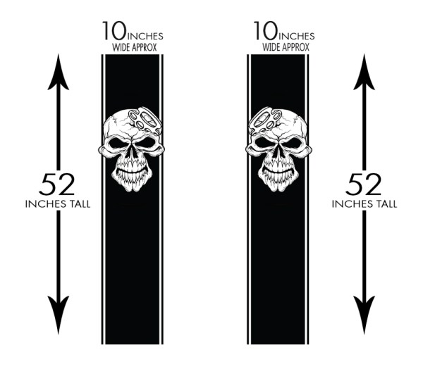 Truck Band Truck Bed Graphic Decals