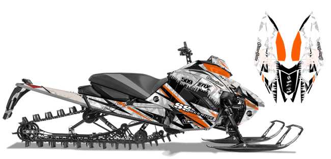 Graphic kits and Wraps for next-gen-ascender