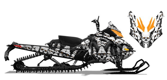 Graphic kits and Wraps for rev-xm