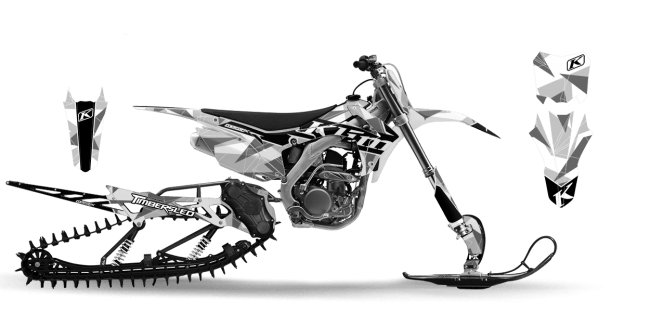 Graphic kits and Wraps for crf