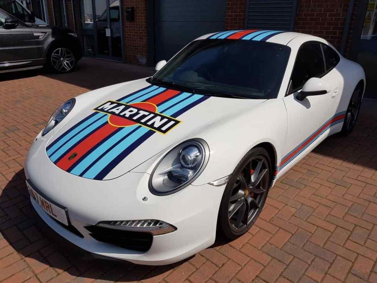 Porsche 911 997 Martini Livery