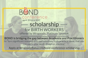BOND Conference: Scholarships for Birth Workers