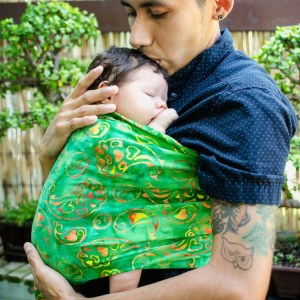 semicolon project baby carrier