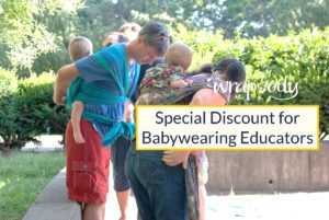 babywearing educator discount