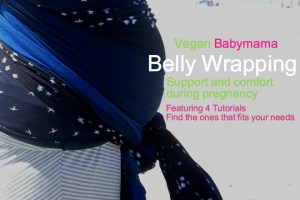 vegan-baby-mama-belly-wrapping