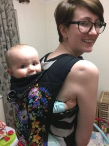 babywearing with ehler-danlos syndrome