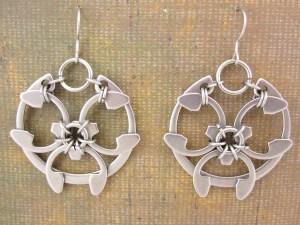 Rose Window Earrings