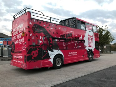 bus wrapping manchester