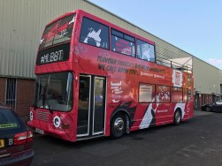 double decker bus wraps