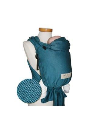 draagzak storchenwiege turquoise