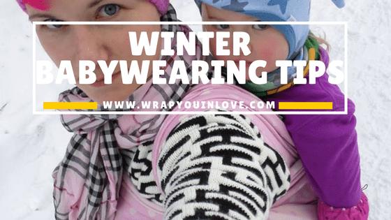 Winter babywearing tips
