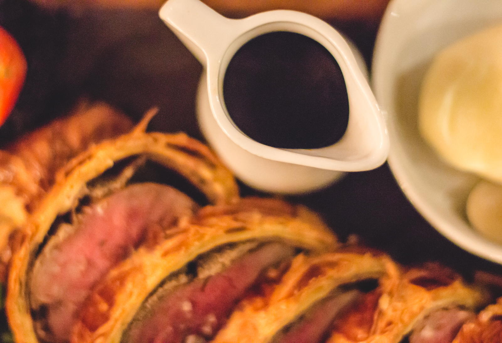 Ramsay's famous Beef Wellington at Heddon Street Kitchen ...
