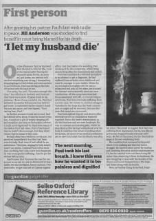 Jill's story - The Guardian