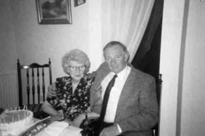 Tom Mackenzie with his mum