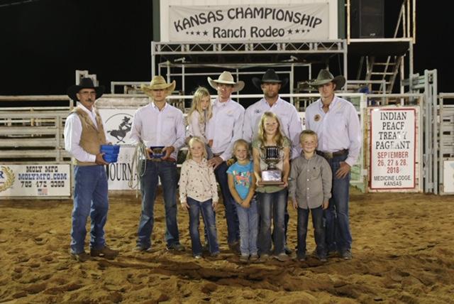 2018 Kansas Championship Ranch Rodeo Results Working