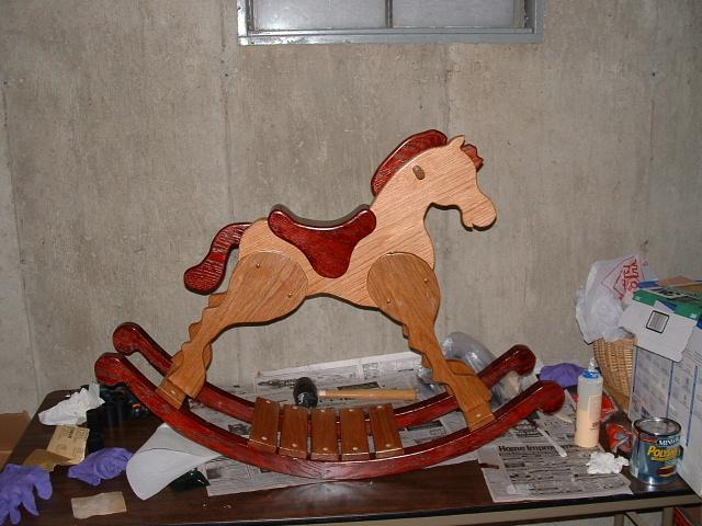 free rocking horse plans