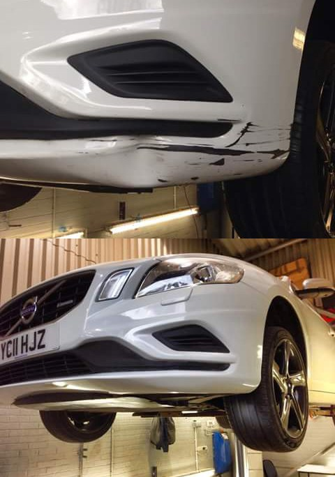 Volvo Car Body Repairs Grimsby