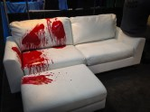 I was in love with this couch, but my wife would never let me do this.
