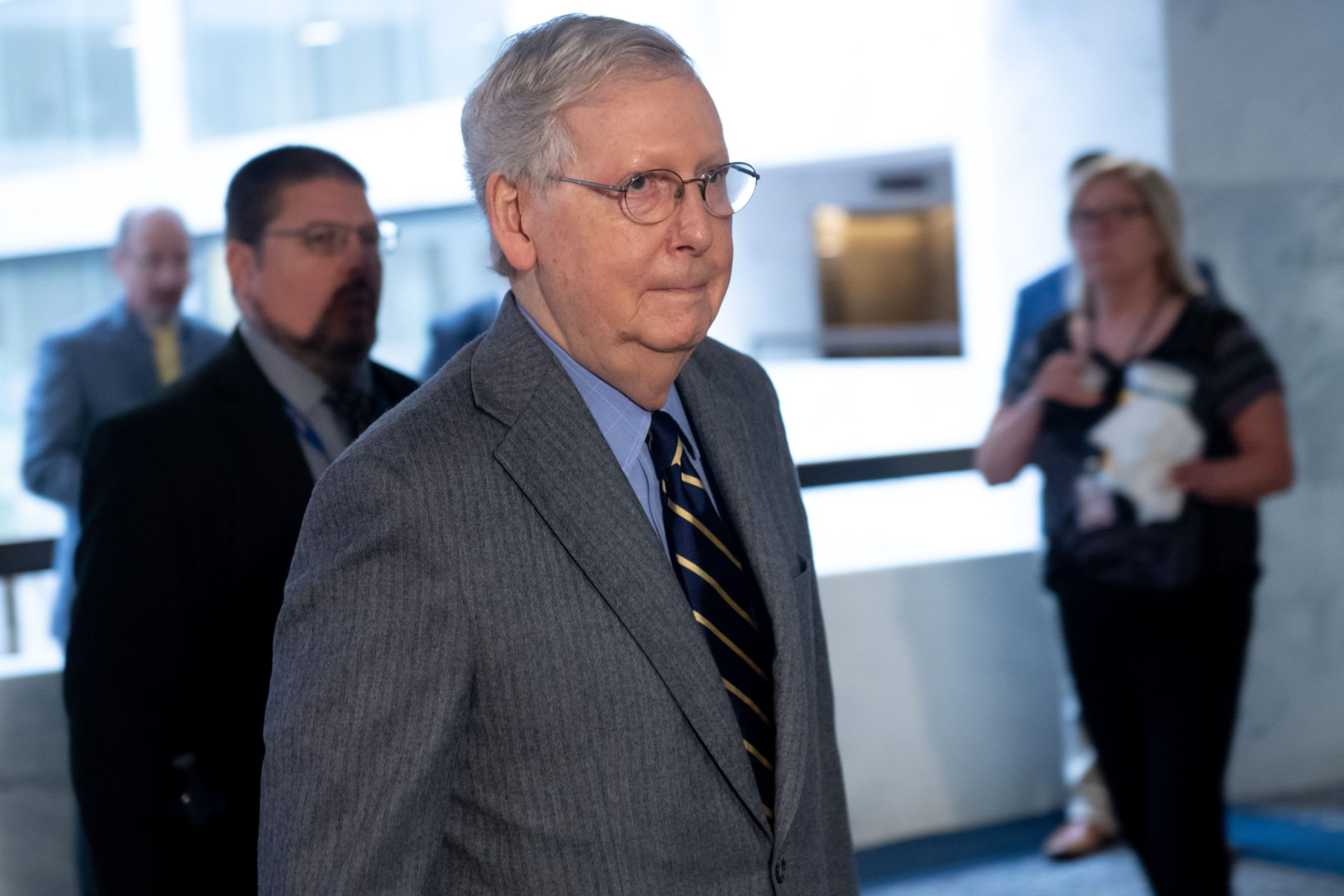 White House Senate Reach Historic 2 Trillion Stimulus
