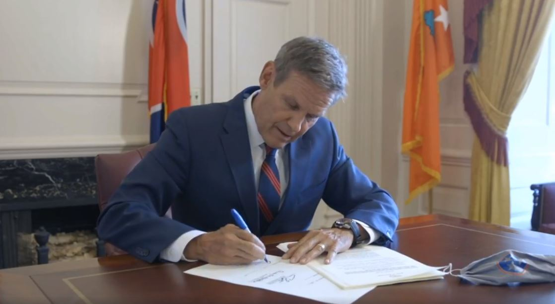 Tennessee Governor Bill Lee Signs Bill to Ban Abortions After Baby's Heart Begins Beating