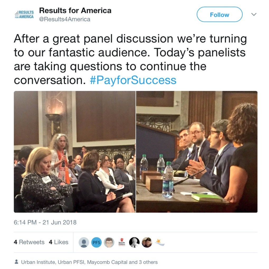 Dirksen Senate Office Building Tweet Results for America
