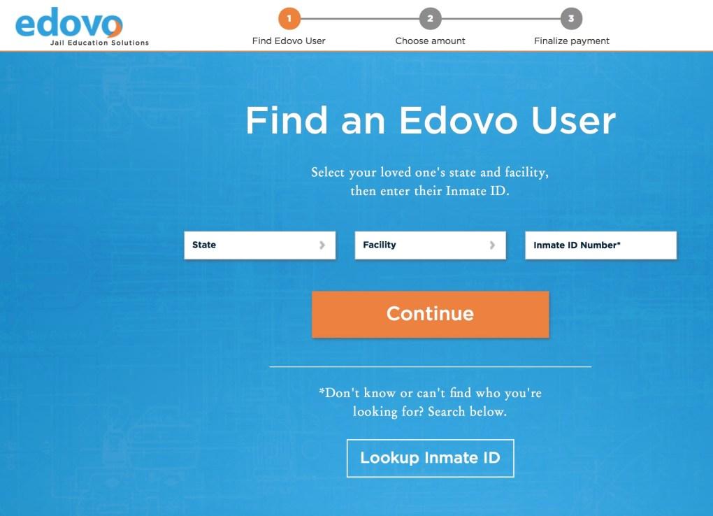 Edovo Payment