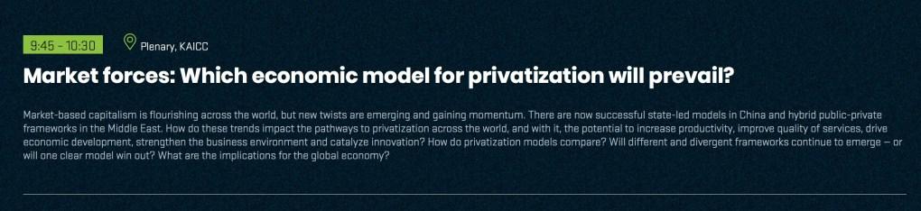 FII Privatization