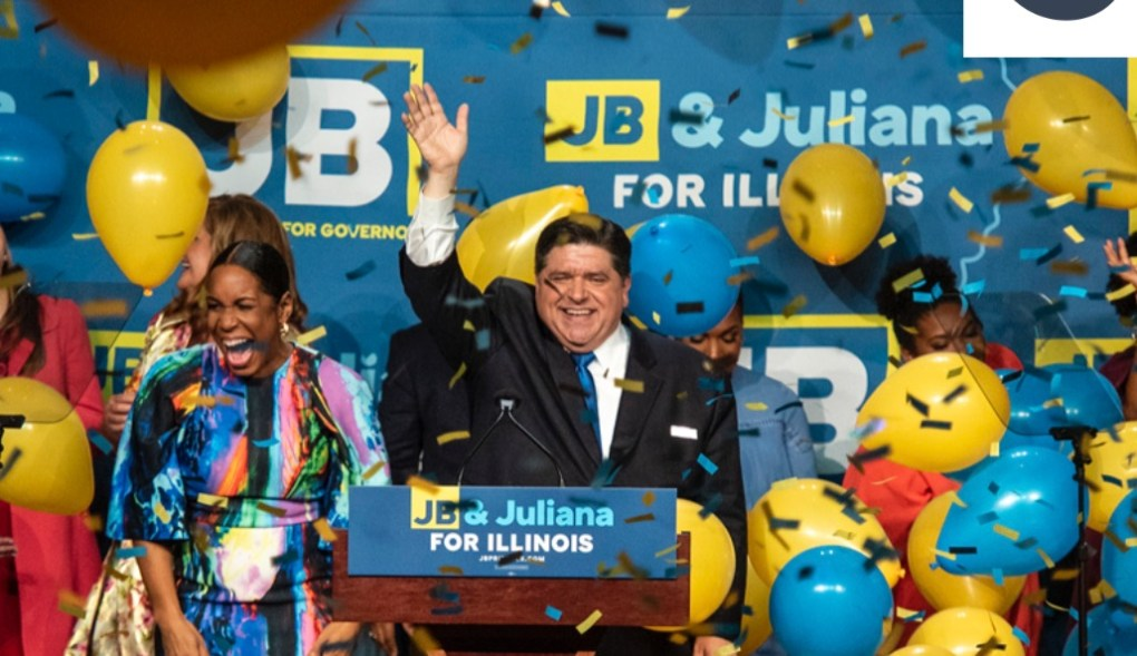 JB Pritzker elected