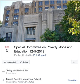 Poverty Committee FB - 1