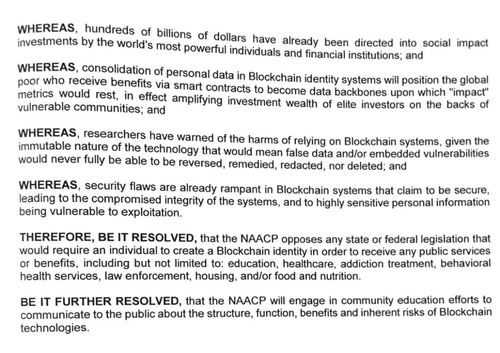 NAACP Blockchain National 2