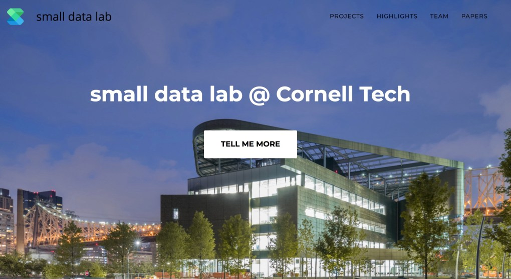 Small Data Lab