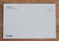 Postcard, back