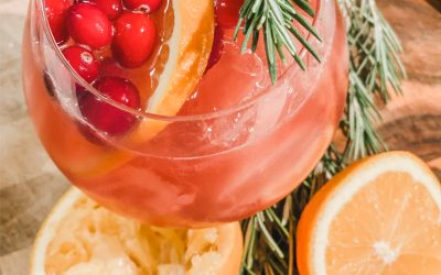 Orange Cranberry Gin Cocktail
