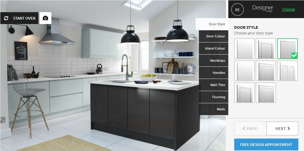 Our New Online Kitchen Design Tool + Prize Draw!  Wren