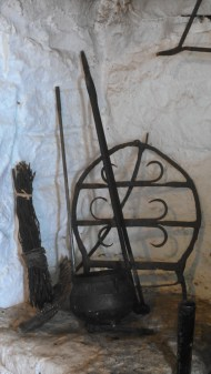 The tongs shown here had all kinds of powers, such as warding off evil spirits and curing many ailments (literally; the sulfur of the metal helped infections)