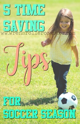 time saving tips soccer season