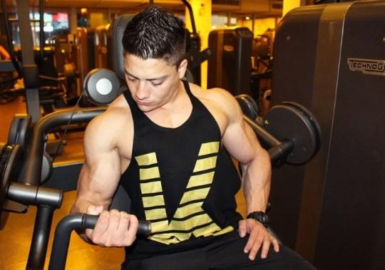 a gym body