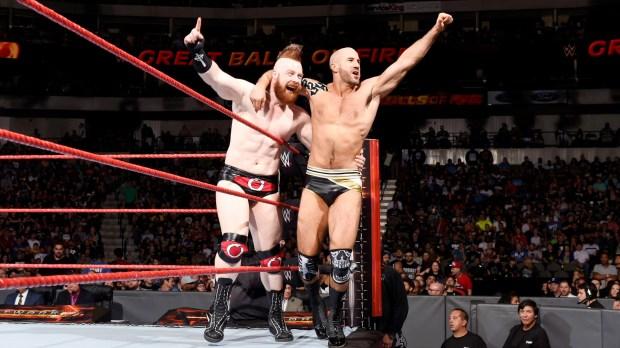 Sheamus e Cesaro