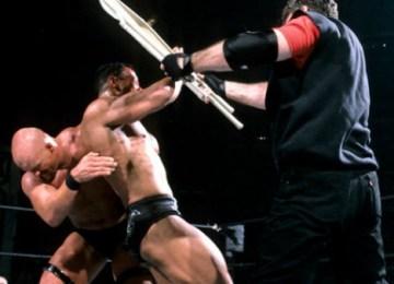 rock vs austin vince mcmahon chair shot