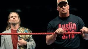 Attitude Era Stone Cold Shawn Michaels WWF title