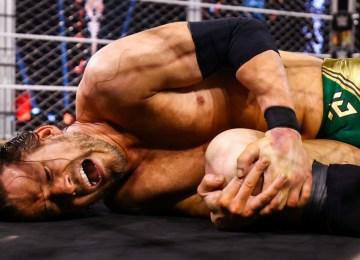 Adam Cole no último NXT Takeover