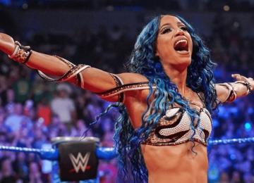 Sasha Banks fora do SummerSlam