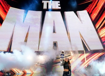 Becky Lynch no Smackdown antes do Extremes Rules