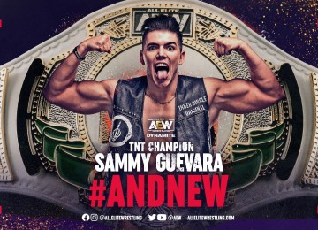 Sammy Guevara venceu Miro e se tornou o novo TNT Champion