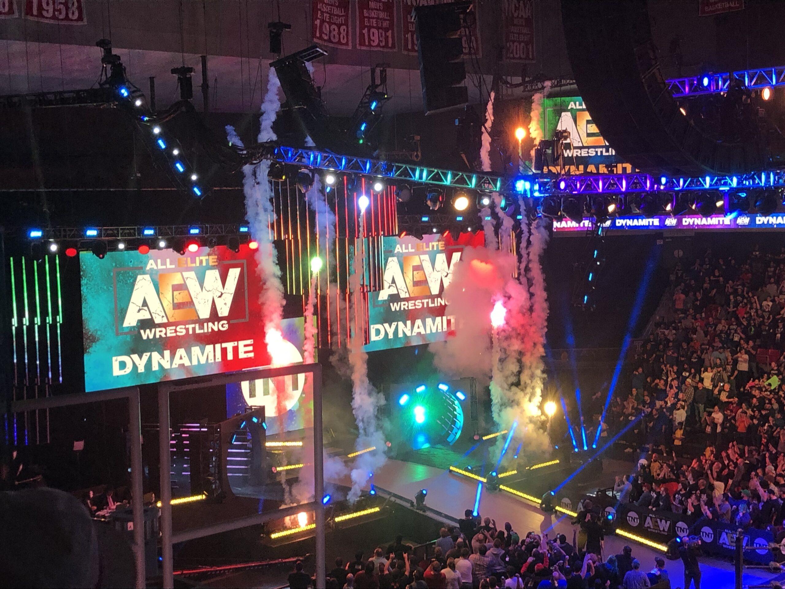 AEW Dynamite bateu o WWE RAW