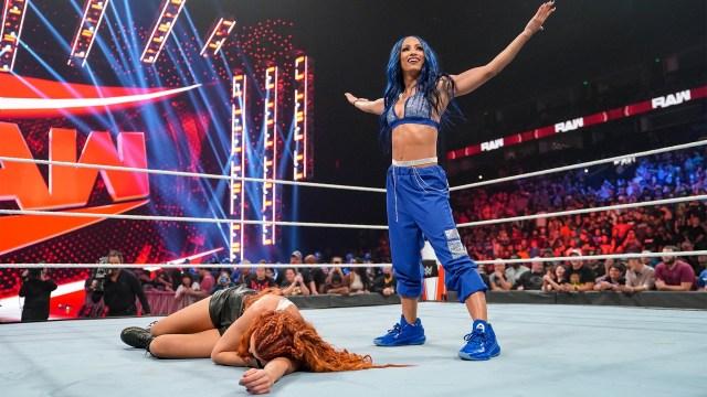 Sasha Banks deve voltar a ter o cinturão no SmackDown